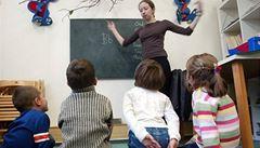 Na vzdělávání učitelek ve školkách půjde půl miliardy z Evropské unie